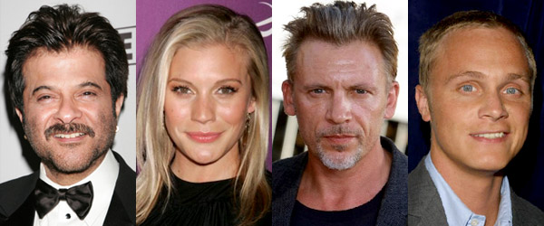 "Anil Kapoor, Katee Sackhoff, Callum Keith Rennie, and David Anders of ""24"""