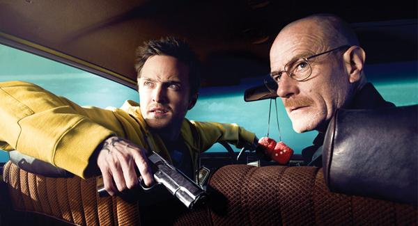 "Aaron Paul and Bryan Cranston of ""Breaking Bad"""