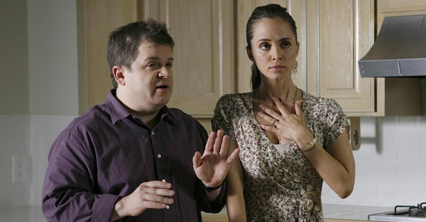 "Patton Oswalt and Eliza Dushku in ""Dollhouse"""