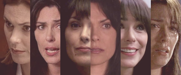 "Michelle Forbes in ""24,"" ""Lost,"" ""Battlestar Galactica,"" ""In Treatment,"" ""True Blood,"" and ""Alias"""