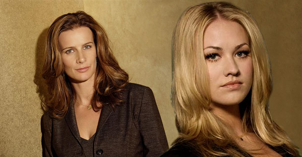 "Rachel Griffiths of ""Brothers and Sisters"" and Yvonne Strahovski of ""Chuck"""