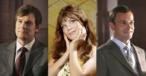 "Peter Krause (""Dirty Sexy Money""), Anna Friel (""Pushing Daisies""), and Jonny Lee Miller (""Eli Stone"")"