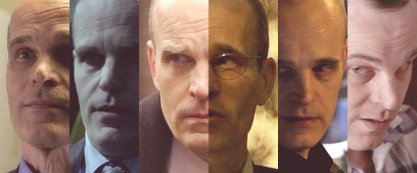 "Željko Ivanek in ""Lost,"" ""True Blood,"" ""Damages,"" ""24,"" ""Heroes,"" and ""The X-Files"""