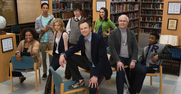 """The cast of """"Community"""""""