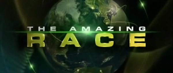 "Title screen for ""The Amazing Race"""