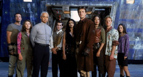 """The cast of """"Firefly"""""""
